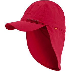 VAUDE Sahara III Casquette Enfant, indian red